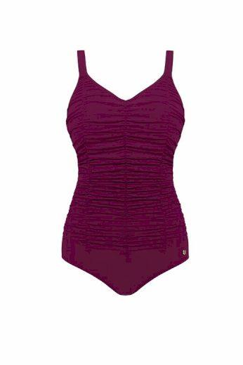 Jednodílné dámské plavky Lily fialové