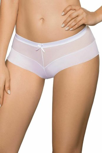 Dámské nohavičkové kalhotky Lisbet bílé