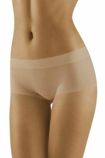 Bezešvé kalhotky s nohavičkou Yava béžové