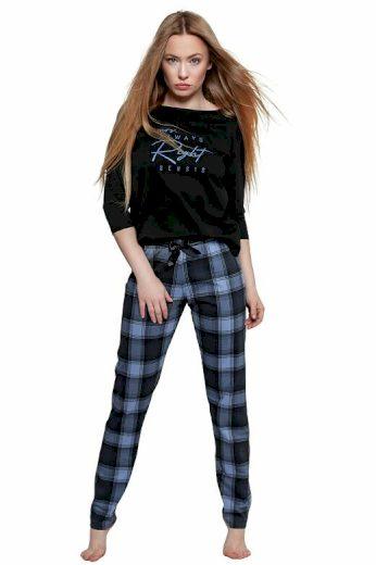 Dámské pyžamo Vicky černé