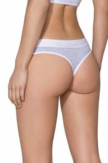 Brazilské kalhotky PS012 světle šedé