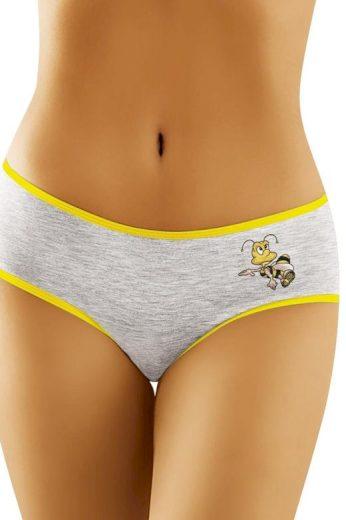 Dámské klasické bavlněné kalhotky Včelka