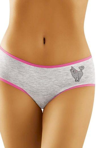 Dámské klasické bavlněné kalhotky Kočička