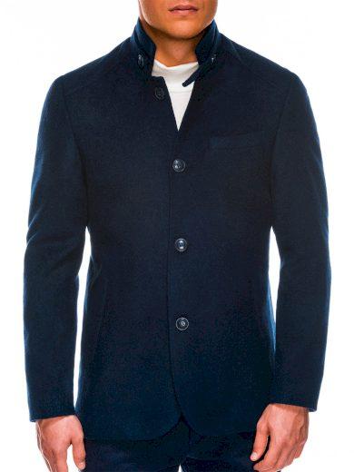 Pánský jarní kabát C427 - námořnický