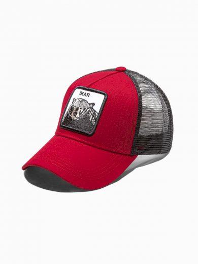 Pánská kšiltovka H098 - červená