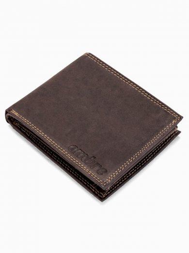 Pánská kožená peněženka A092 - hnědá