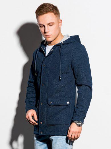 Jarní kabát C454 - námořnický
