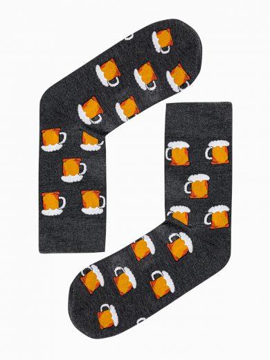 Pánské ponožky U136 - grafitová