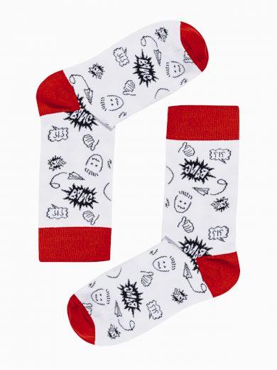 Pánské ponožky U148 - bílá
