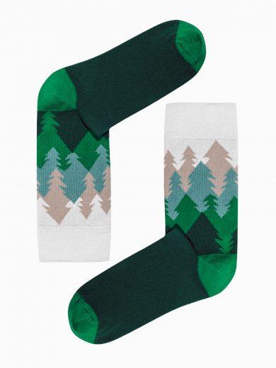 Pánské ponožky U149 - zelená