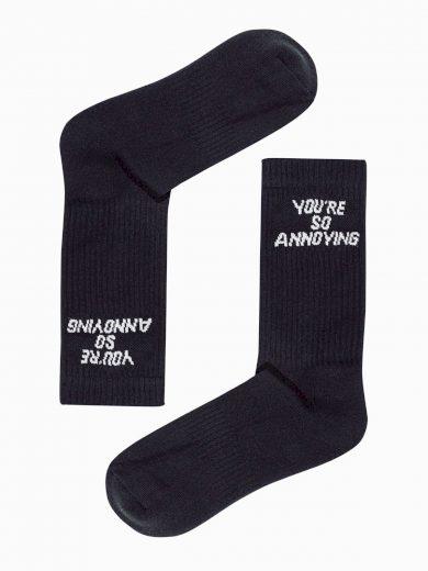 Pánské ponožky U152 - černá