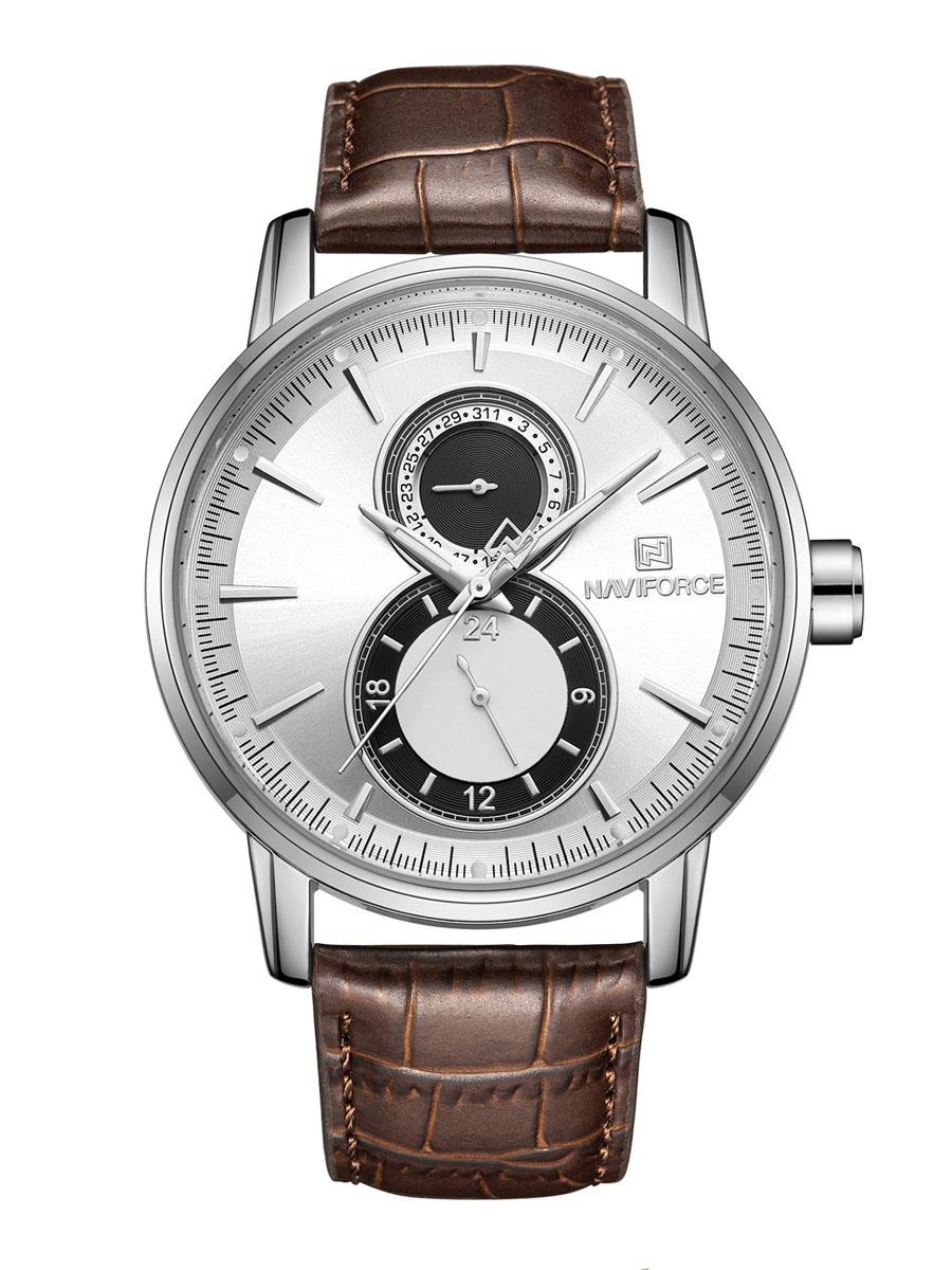 Pánské analogové hodinky Vertigo hnědé
