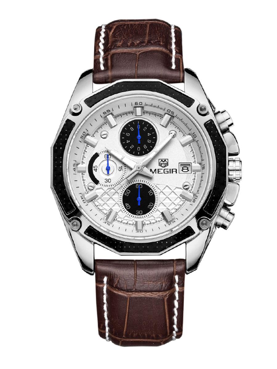 Pánské analogové hodinky Polite bílé