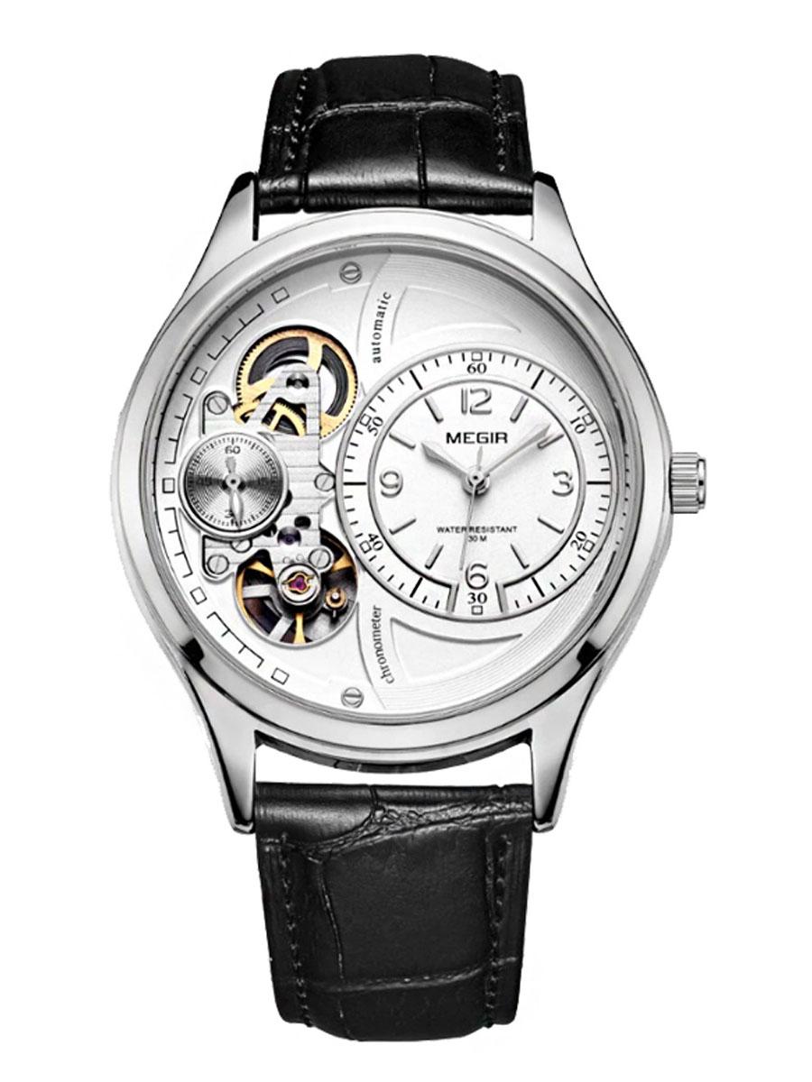 Pánské mechanické hodinky Mirable bílé
