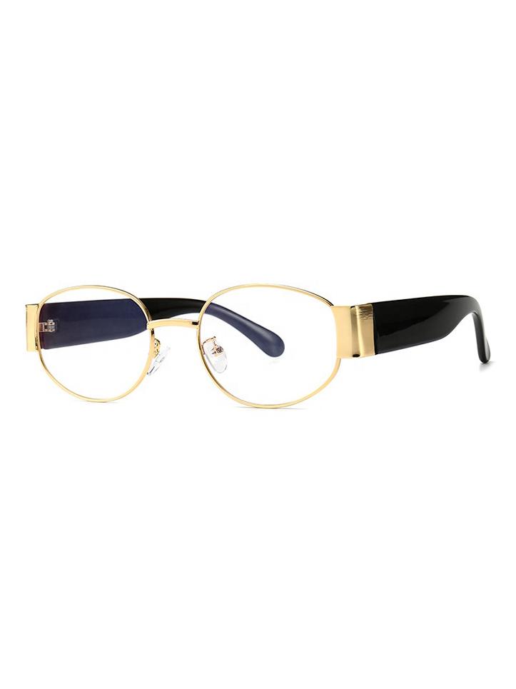 Brýle s čirými skly Foy zlaté