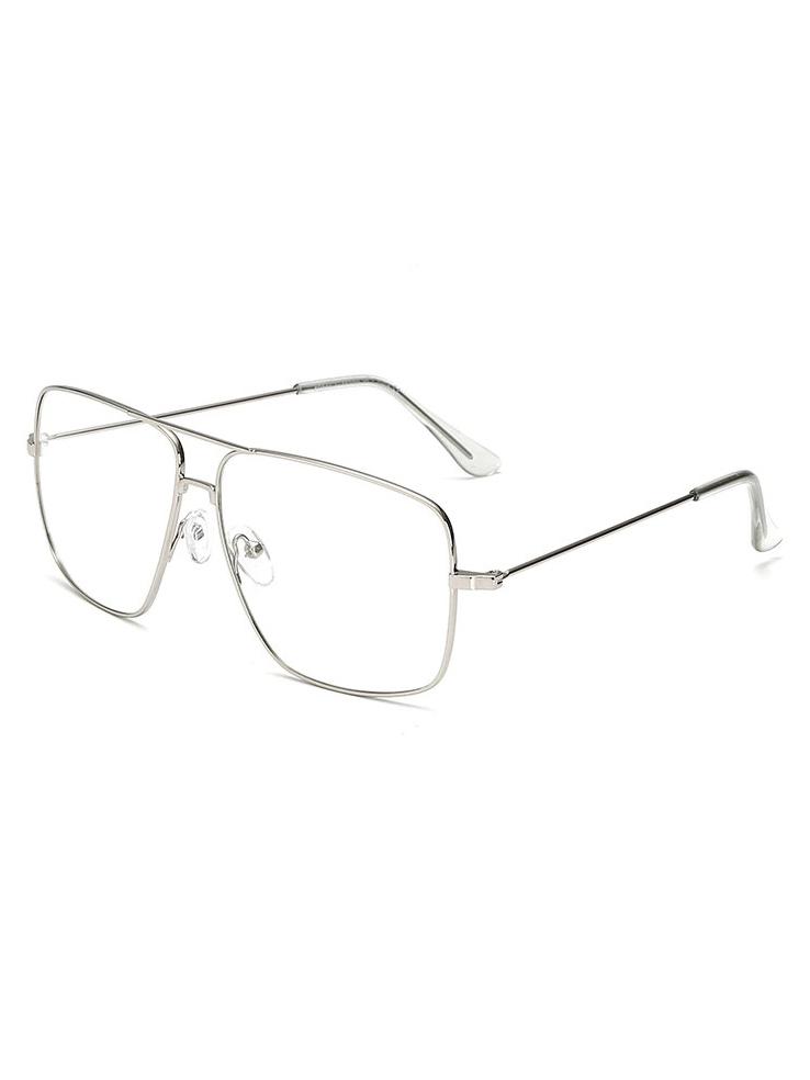 Brýle s čirými skly Eileen stříbrné