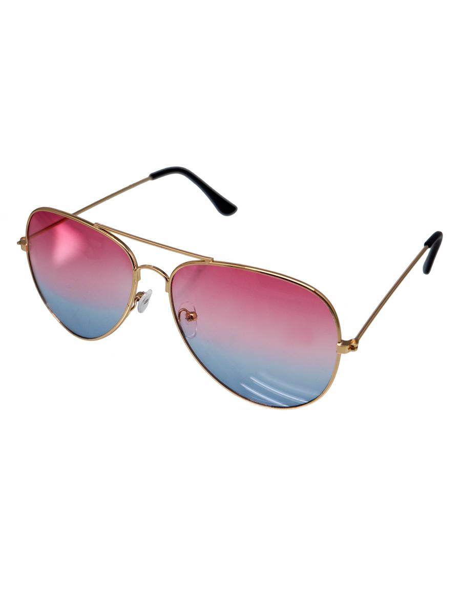 Sluneční brýle Henio růžovo-modrá skla