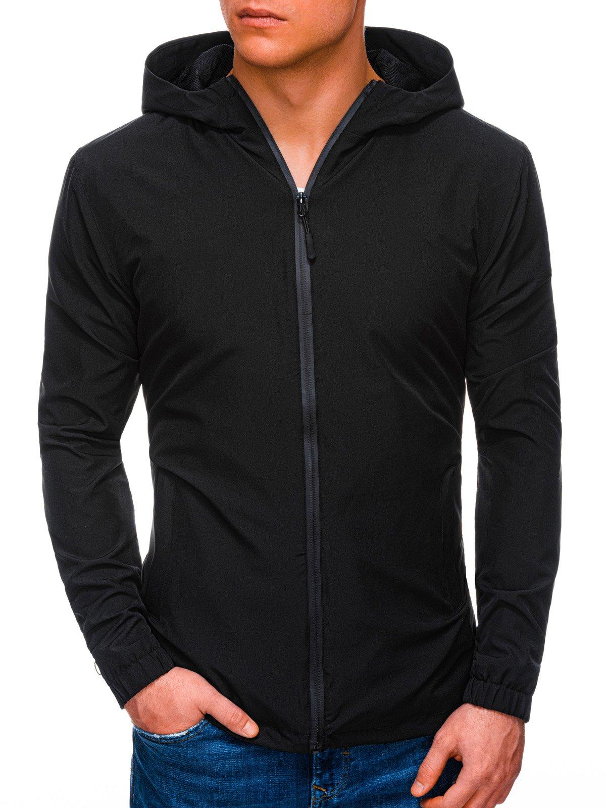 Pánská přechodová bunda Gustaus černá