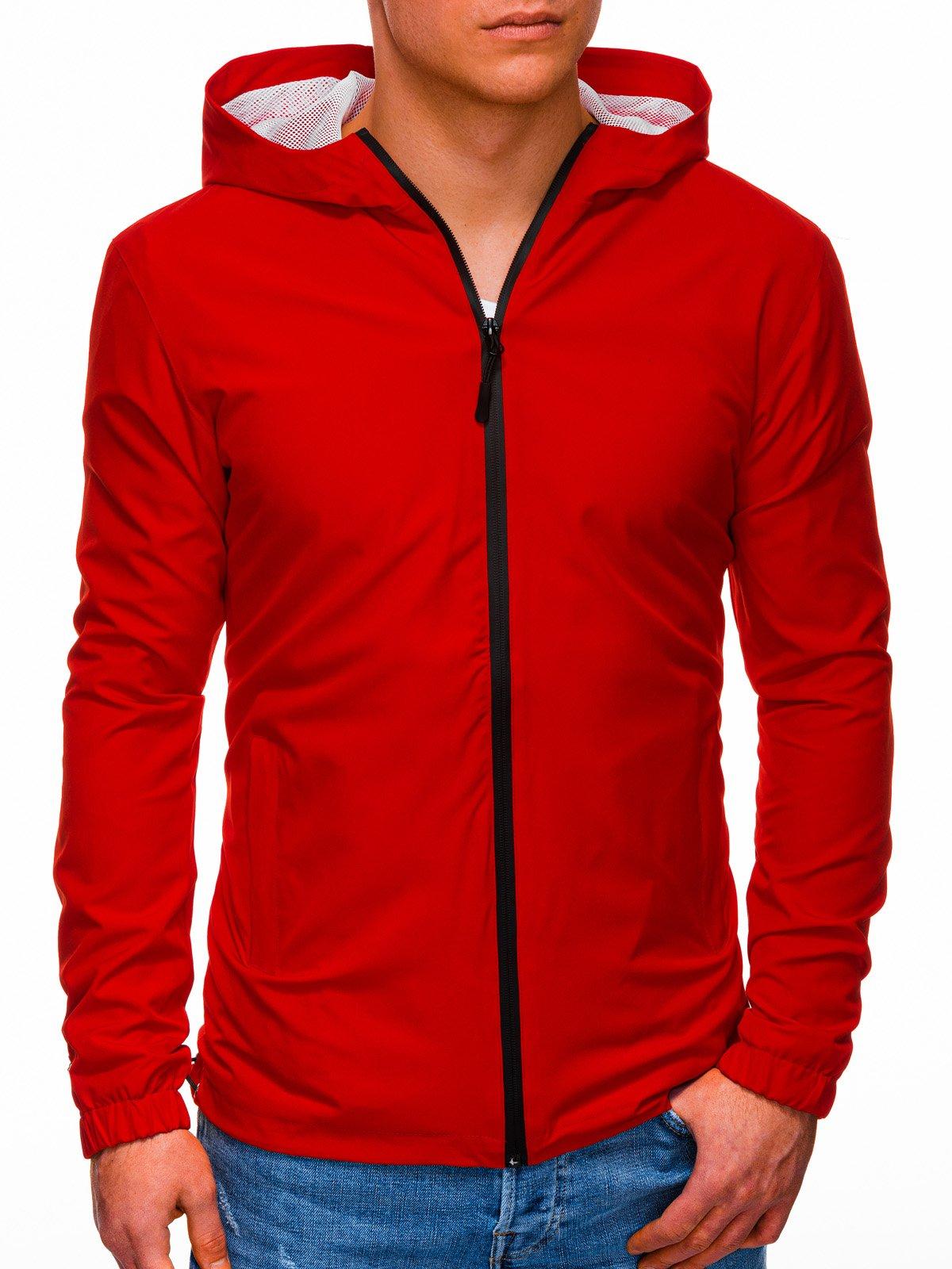 Pánská přechodová bunda Gustaus červená