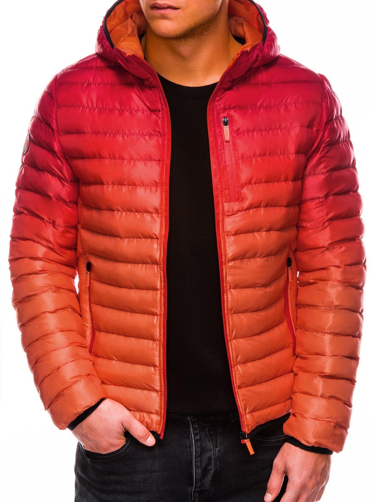 Pánská prošívaná bunda Avalanche červená