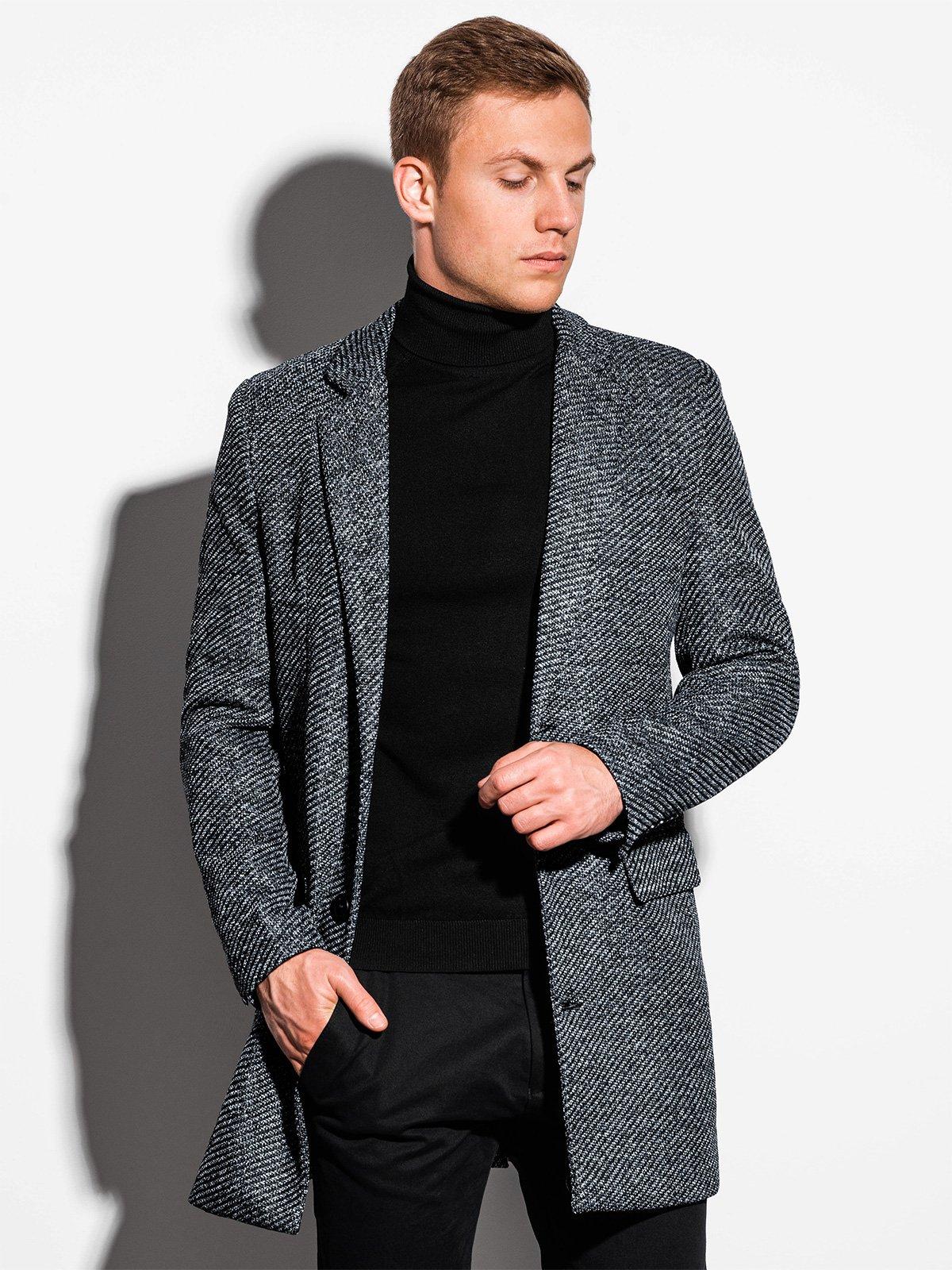 Pánský kabát Nesbo šedý