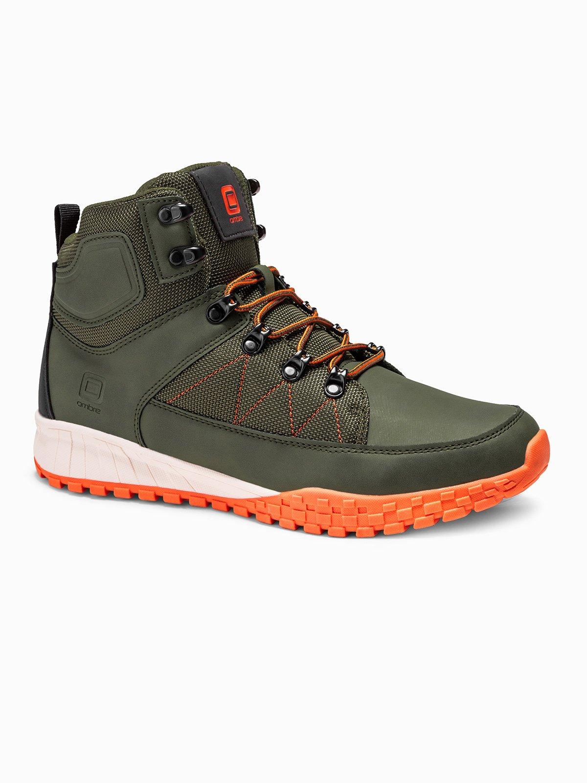 Pánské zimní boty Highest zelené