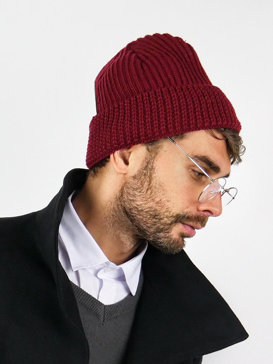 Pánská zimní čepice Gyro bordó