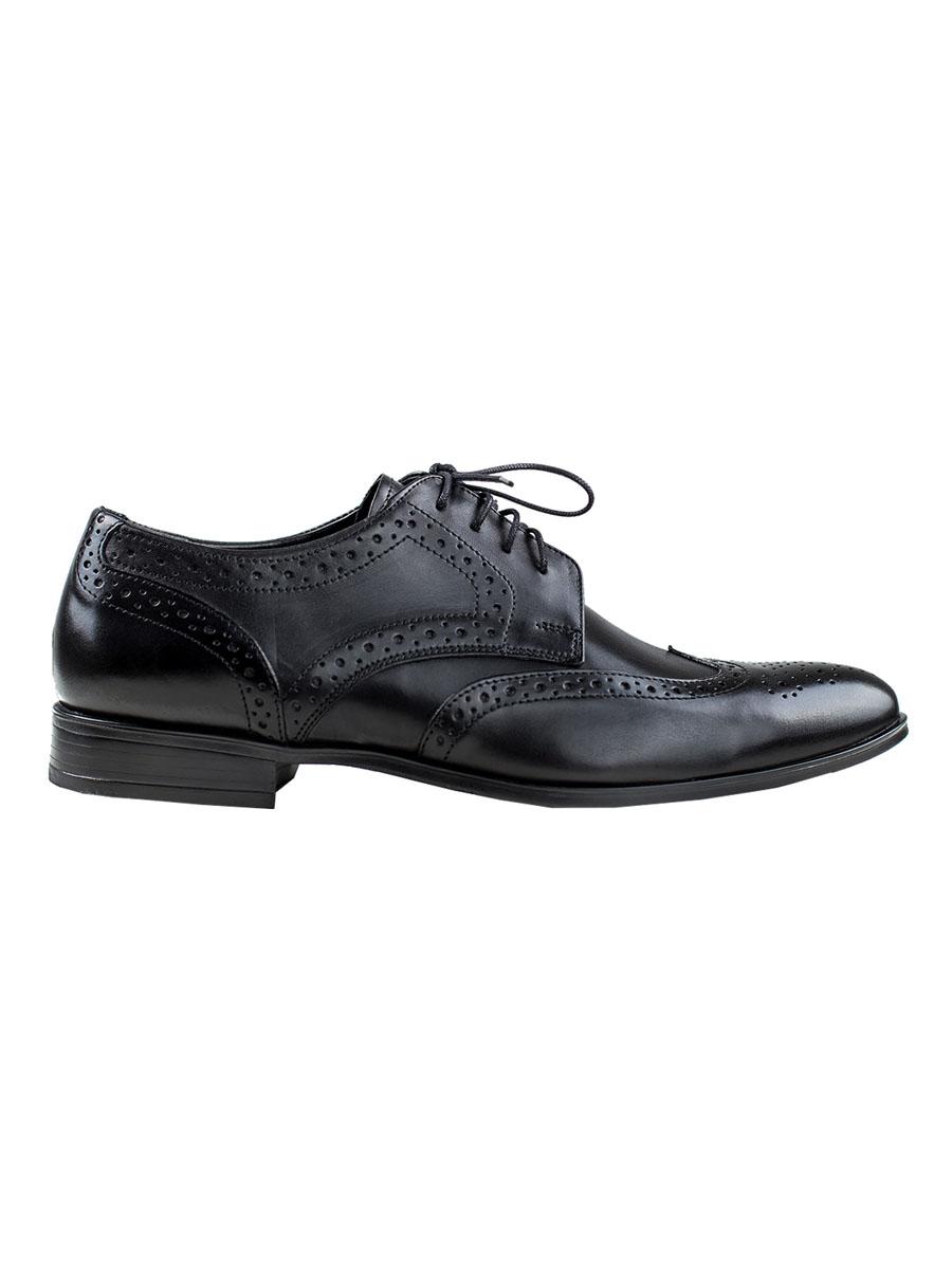 Pánské boty s derbou Angelo černé