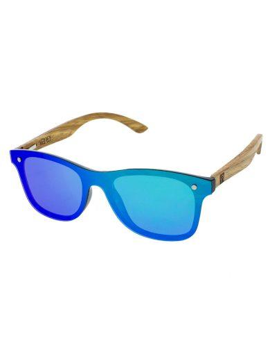 Dřevěné sluneční brýle Stove zelená skla