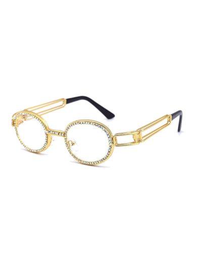 Brýle s čirými skly Clair zlaté