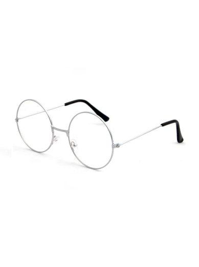 Brýle s čirými skly Townsend stříbrné