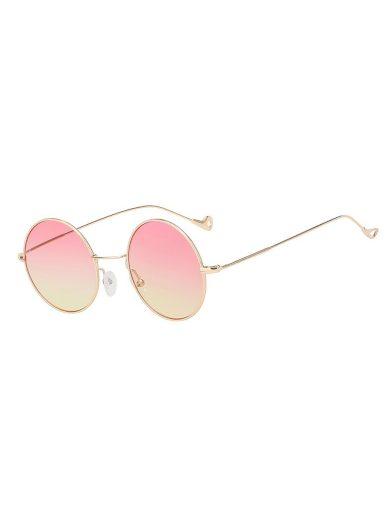 Sluneční brýle Gunnel růžovo-žlutá skla