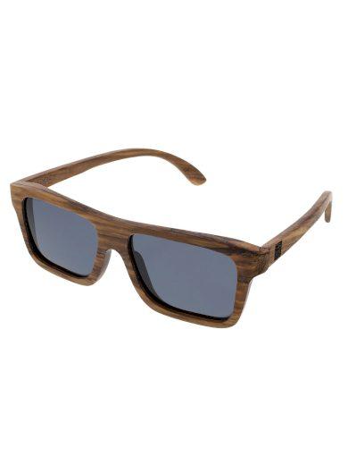 Sluneční brýle dřevěné polarizační Forest černá skla