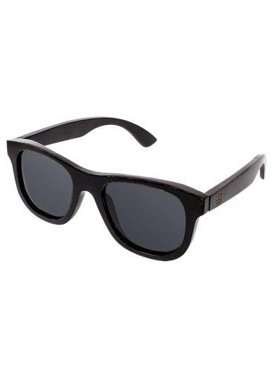 Sluneční brýle dřevěné polarizační Root černá skla