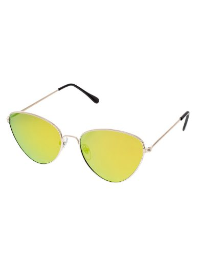 Sluneční brýle pilotky Favour zlaté obroučky barevná skla