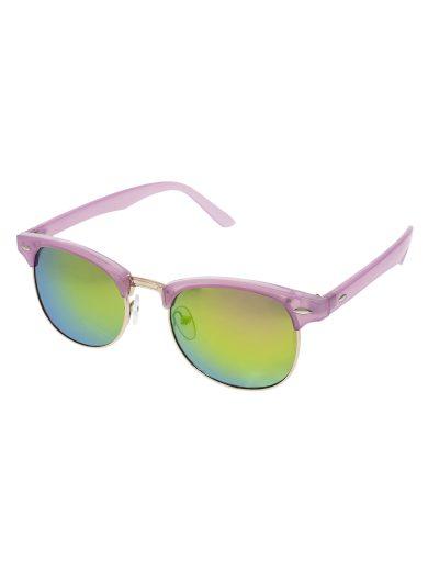 Polorámové sluneční brýle Grow růžové obroučky barevná skla