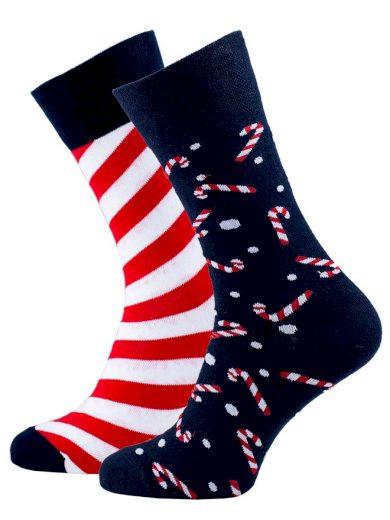Veselé vánoční ponožky Sweet X-Mass tmavě modré