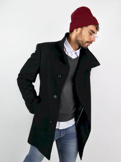 Pánský společenský kabát Merlin černý