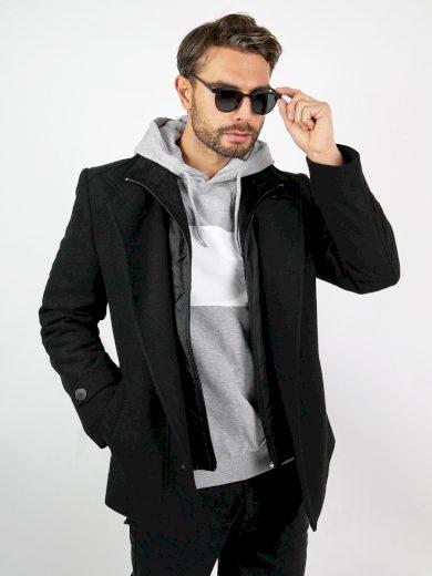 Pánský zimní kabát Marsh černý