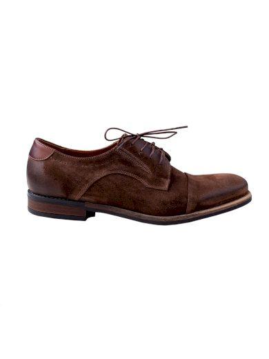 Pánské společenské boty Slard hnědé