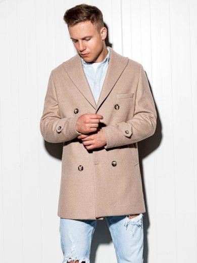 Pánský kabát Becker béžový