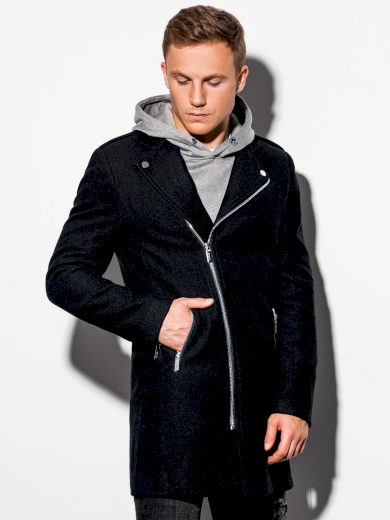 Pánský kabát Bayler černý