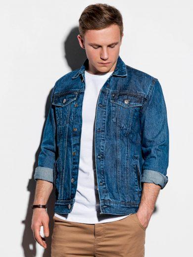 Pánská riflová bunda Goodhue modrá