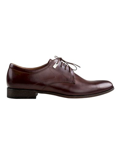Pánské společenské boty Giorgio tmavě hnědé