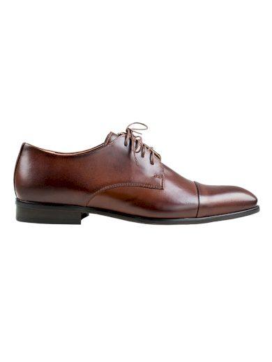 Pánské společenské boty Vincenzo tmavě hnědé