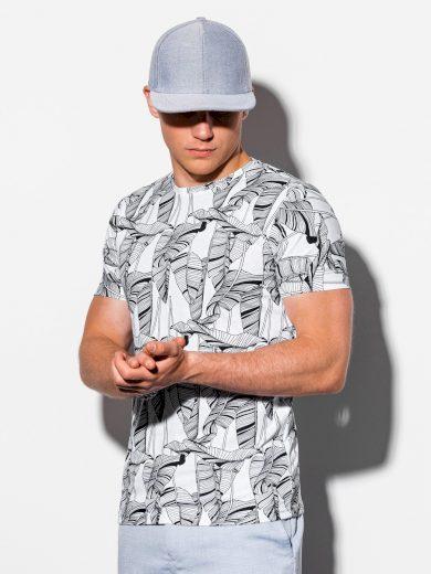 Pánské tričko s potiskem Wyatt bílá