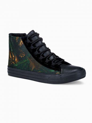 Pánské kotníkové boty Oli khaki/navy