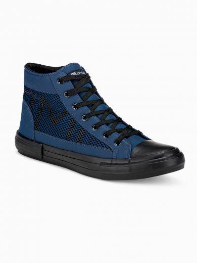 Pánské kotníkové boty Harrison navy