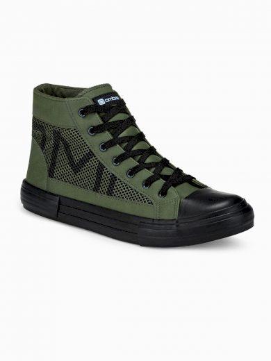 Pánské kotníkové boty Harrison khaki