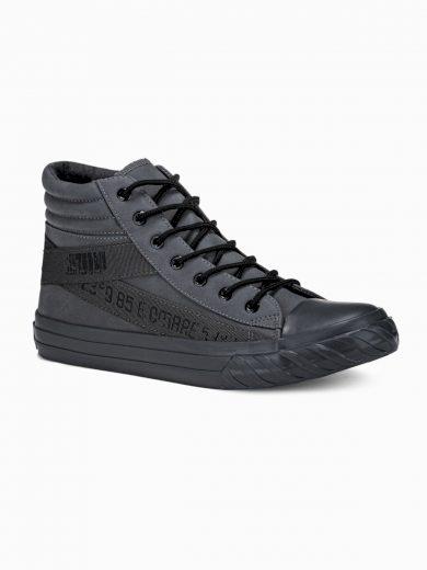 Pánské kotníkové boty Patrick tmavě šedá